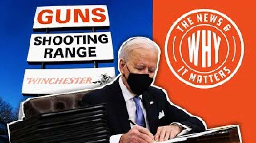 #718 Biden Says 2nd Amendment Is NO MATCH for His Executive Orders | The News & Why It Matters