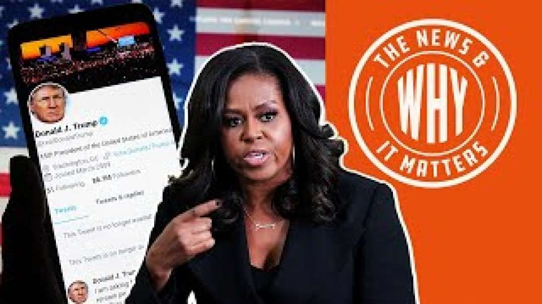 #691 PURGE HAS BEGUN - Michelle Obama Asks Big Tech to Censor Trump  The News and Why It Matters