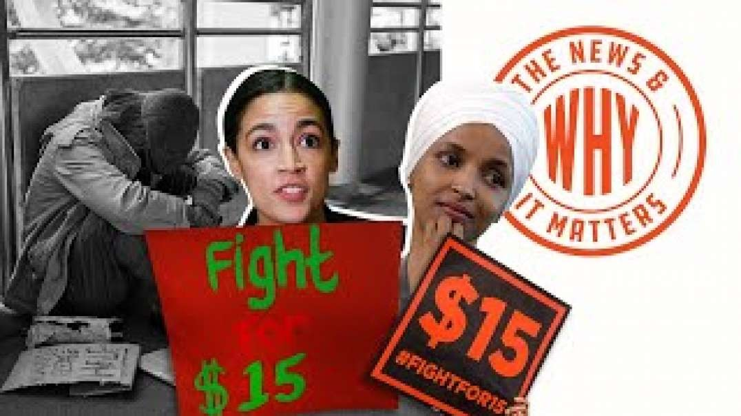 #712 Dems Ignore 1.4 MILLION JOBS LOST in $15 Minimum Wage Increase | The News & Why It Matters