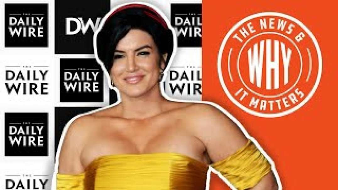 #716 Gina Carano & Daily Wire's POWER MOVE Against Disney | The News & Why It Matters