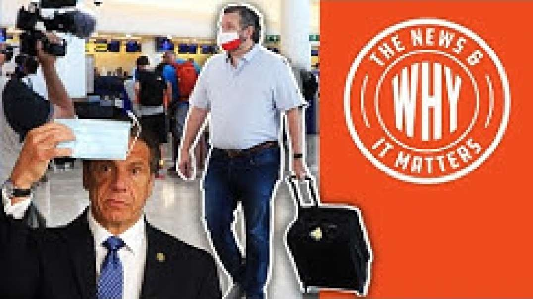 #720 MSM Tears into Cruz Cancun Trip, Says Nothing of Cuomo Scandal | The News & Why It Matters