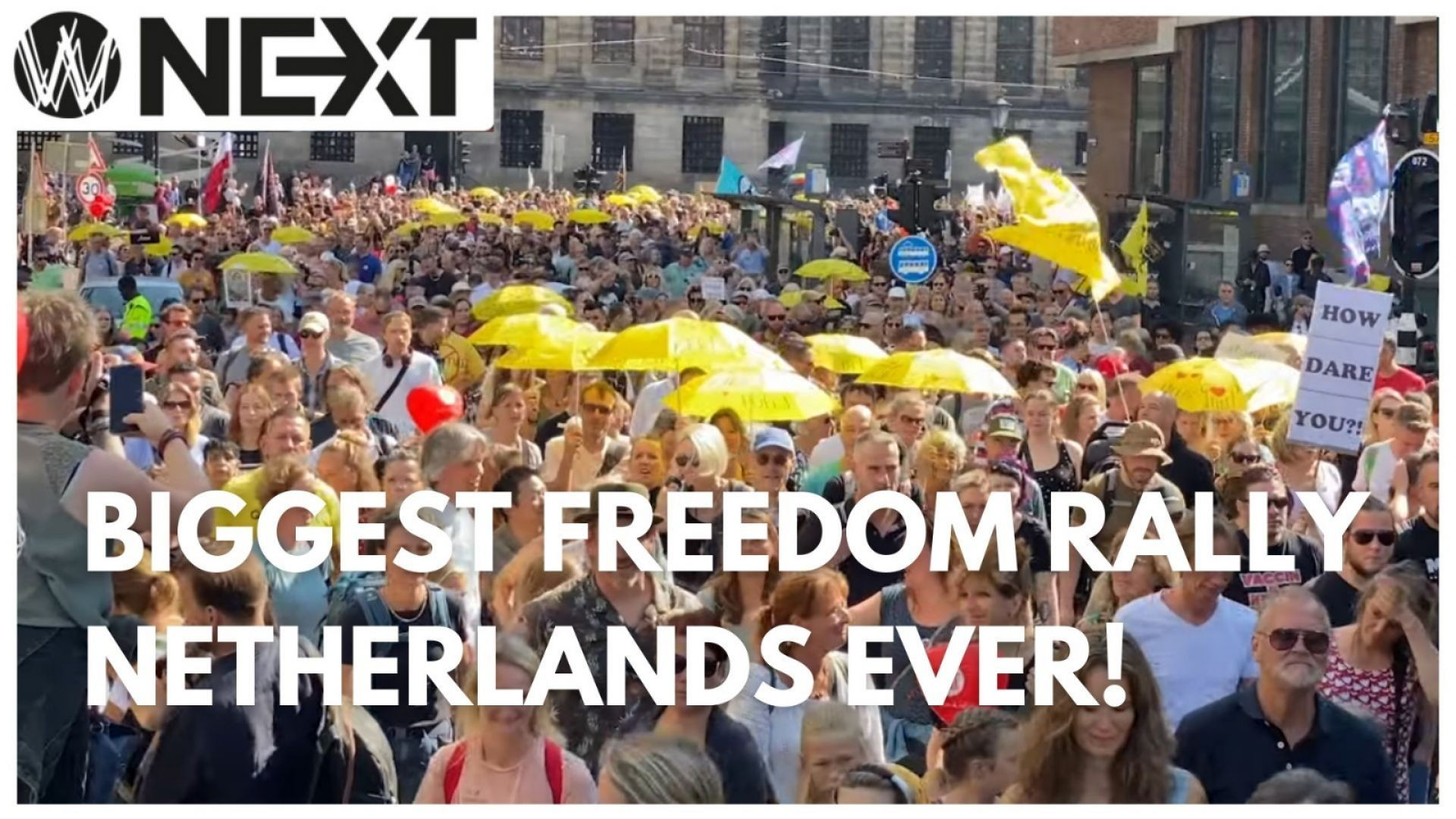 Biggest Freedom Rally Netherlands Ever!